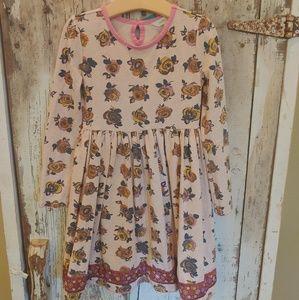 Matilda Jane Fall Floral Dress Size 6